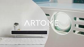 Artome Landing Page video