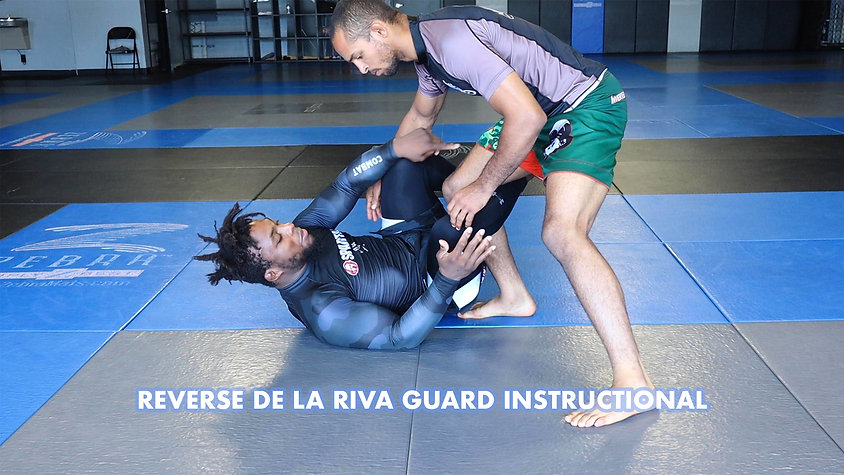 Reverse De La Riva Guard Instructional