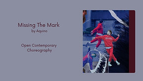 Missing The Mark - Open Contemporary Class