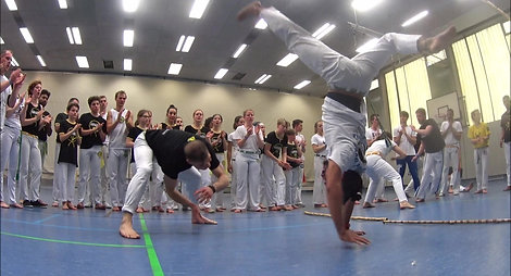 Capoeira Frankfurt Workshop 2018 Roda