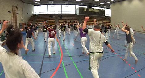 Erwachsenen Workshop Capoeira Frankfurt 2018