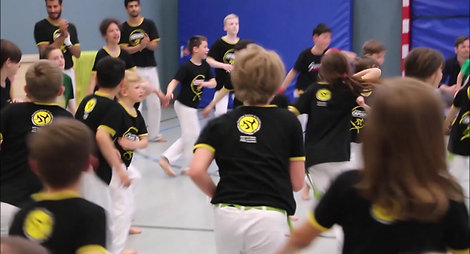 Kinder Gürtel Vorstellung Frankfurt Capoeira