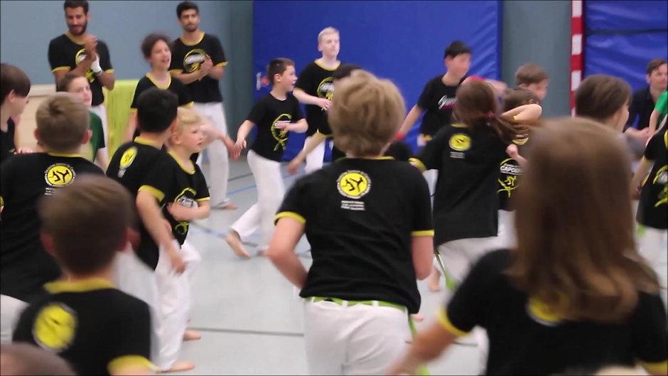 Capoeira Kinder in Frankfurt