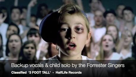 Forrester Singers - backup vocals for rapper & producer, CLASSIFIED.