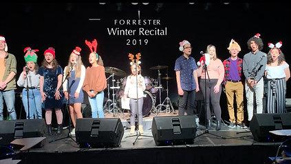 Forrester Winter Recital 2019 (2min..cut)