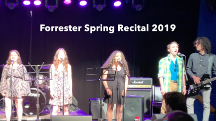 Forrester Singers - Spring Recital 2019 in 5minutes