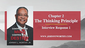 The Thinking Principle Interview - Response 1