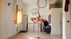 Spinning combo - Horizontal leg