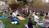 Meditació per la Pau a Olot (8/10/17')