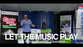"""Let The Music Play"" LIVE / Performe Martin Tazl @ Polizei NRW"