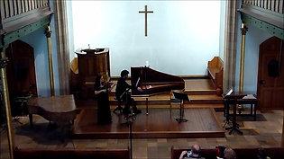 D. Castello, Sonate no 2, Emilie Mory violon, Lionel Desmeules Clavecin, 20 mai 2016