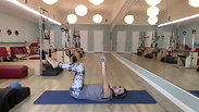 All Levels Pilates Mat Class - Weights and Ball