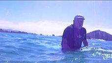 Mergulho  na Barrinha, Micki e Roberta