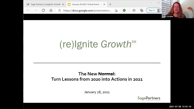 From Lessons in 2020 to Actions in 2021