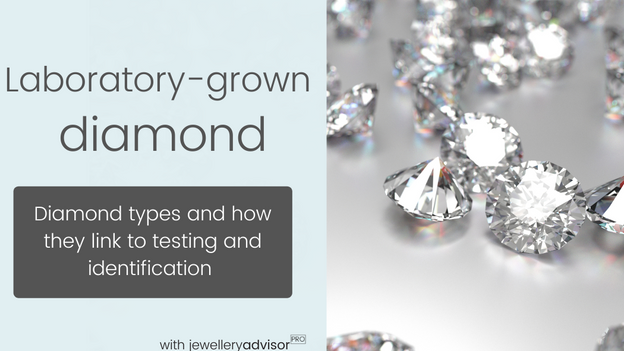 Laboratory-grown diamonds: Diamond types and how they are linked to testing and identification