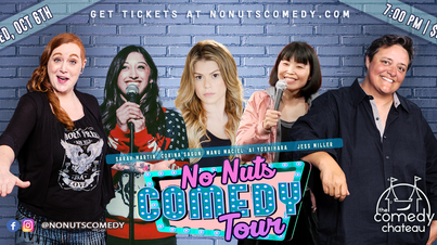 No Nuts Comedy Tour goes to LA!