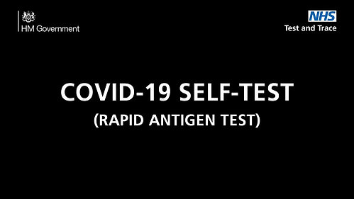 How to do a COVID-19 Self Test (rapid antigen test)