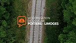 SNCF Réseau - Modernisation de la ligne Poitiers-Limoges