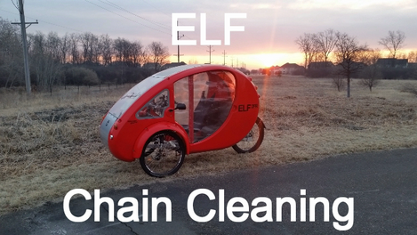 How To Clean And Oil the Chains On The ELF