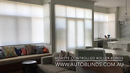 Grouped roller blinds operate simultaneously