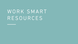 Work Smart Resources