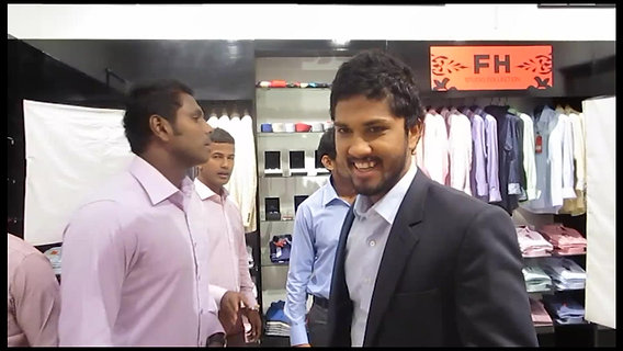 With The Sri Lanka's National Cricket Team