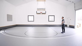 BASKETBALL: Footwork Shooting