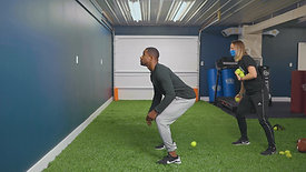 SPEED/AGILITY: Wall Catches