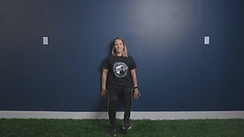 STRENGTH/MOBILITY: Wall-Sit March