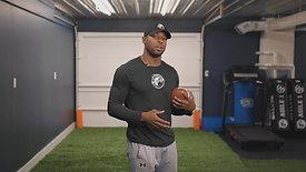 FOOTBALL: Flip & Catch