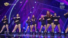 LOOΠΔ/Odd Eye Circle (이달의 소녀/오드아이써클) - Sweet Crazy Love @인기가요 Inkigayo 20171126