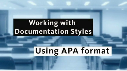 Introduction to APA - by Questia (Cengage Learning)