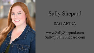 Sally Shepard - Demo Reel
