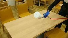 光触媒コーティング テーブル