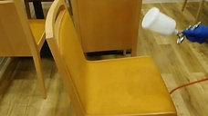 光触媒コーティング 椅子
