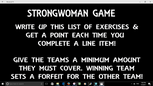 Strongwoman - Bootcamp