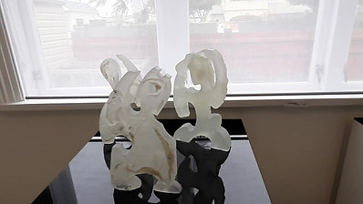 Wi Taepa -  te kore whakama (glass & ceramic)