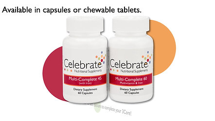 Choosing your 3 core supplements