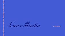 Live with Leo Martin