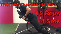 back - Incline Dumbbell Row