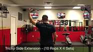 tricep side extensions