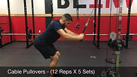 Back - cable pulldowns