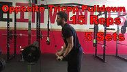 triceps - opp. tri pulldown