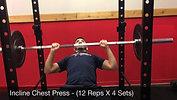 chest - incline chest press