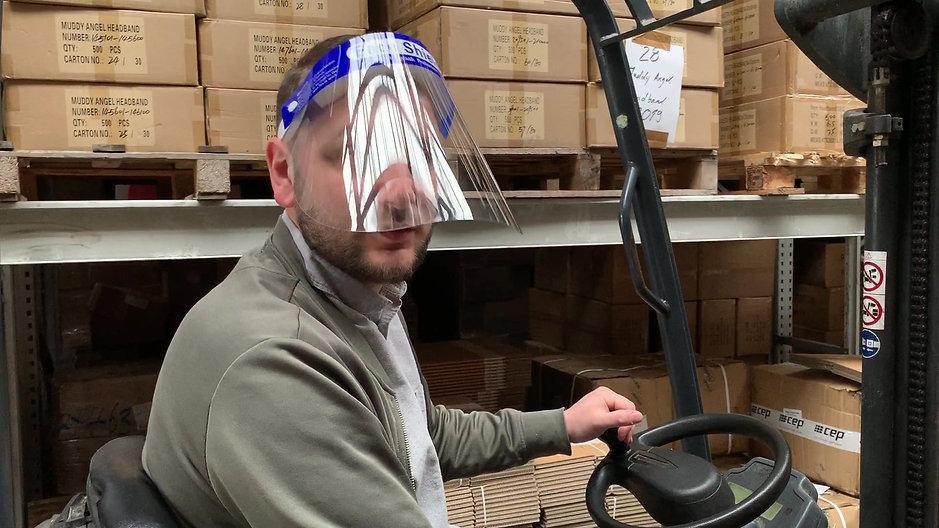 Gesichtsschutz - Visier