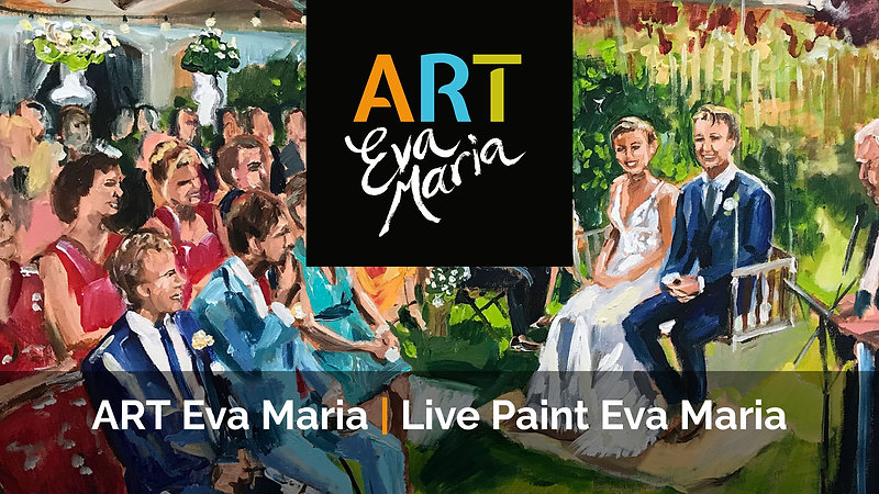 Just a perfect day! Live Paint Eva Maria