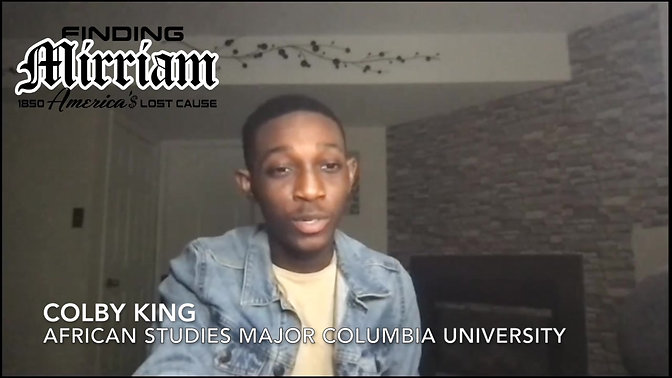 All the things that happen after slavery to black people should also be paid- Testimonial Colby King
