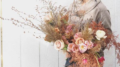 Dried Winter Bouquet Tutorial