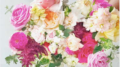 Live Instagram Colorful Bouquet